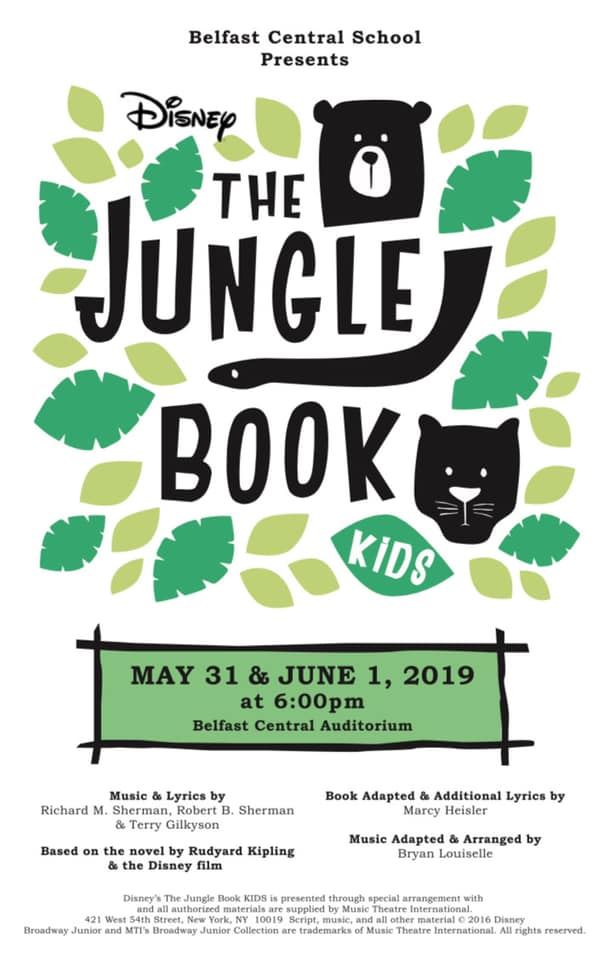 Live Stream Jungle Book Kids!